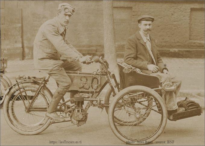 Devaux, tricar Stimula-Vandelet, concours des tricars en 1905