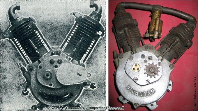 moteurs bicylindre Doué et Givaudan
