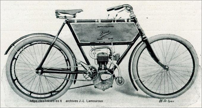 motocyclette Doué type BC 1904