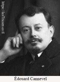 Édouard Alfred Oscar Cannevel, portrait de l'inventeur 1913