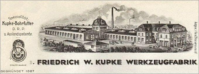 Gera, l'usine Kupke
