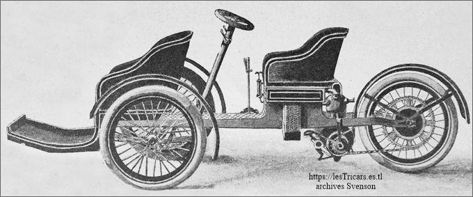 trivoiturette Griffon 1907