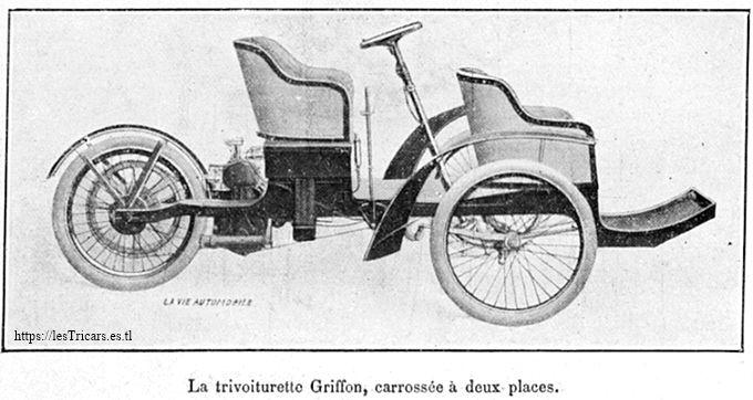 trivoiturette Griffon 1910