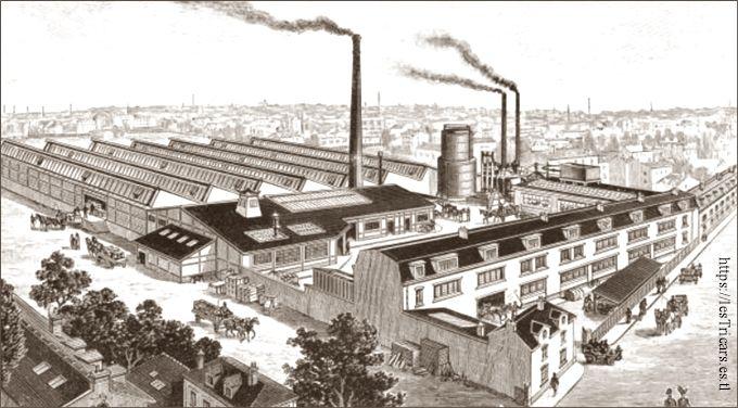 L'usine Griffon à Courbevoie