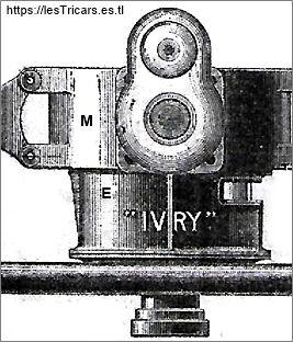 Ivry, moteur et embrayage, détail