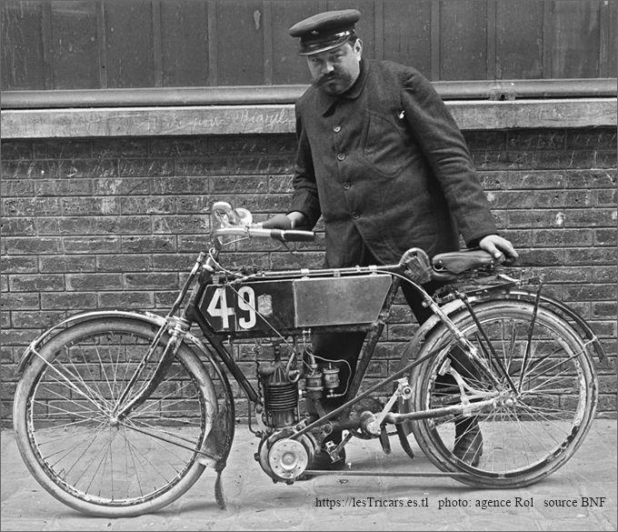 moto La Foudre 1904 Paris-Bordeaux-Paris