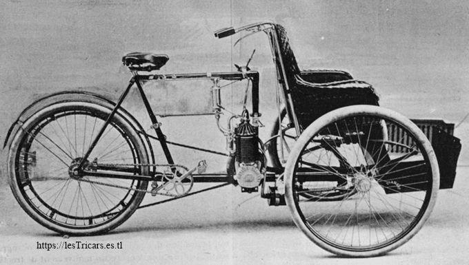 """le tricar dénommé """"Tri-Promeneur"""", 1901"""