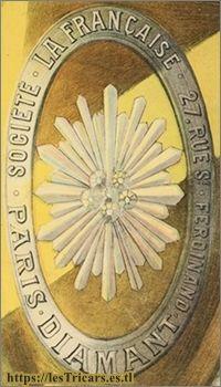 Logo de la marque La Française Diamant, environ 1897