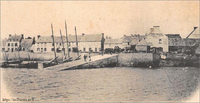 Le Fret, port