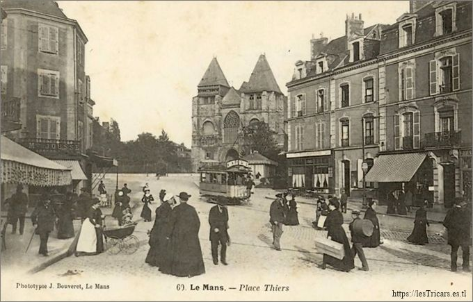 Le Mans, Place Thiers