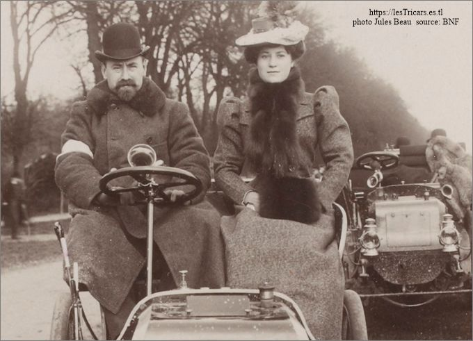 Léonce Girardot et sa femme, 1898