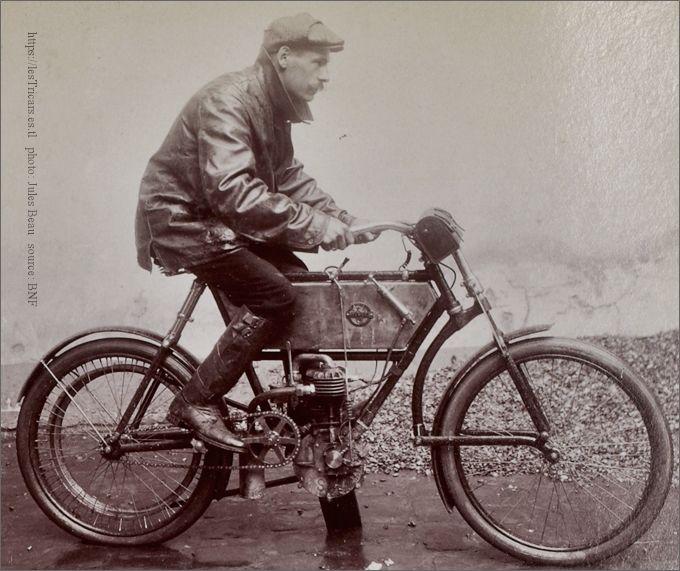 Lepetit moto Stimula 1905 Tour de France