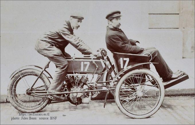 Lepetit sur tricar Stimula, Tour de France 1906