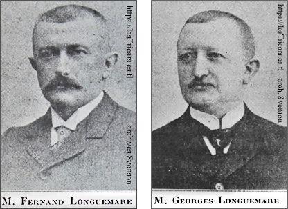Les frères Longuemare, portraits