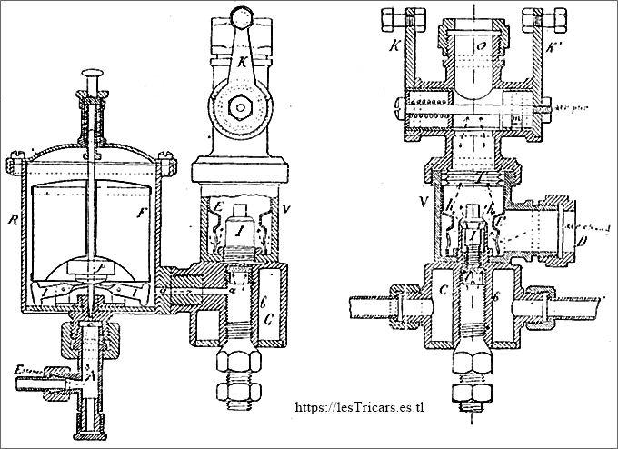 1898, carburateur Longuemare