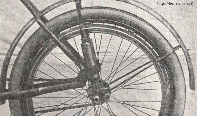 La suspension arrière Lurquin et Coudert, photo