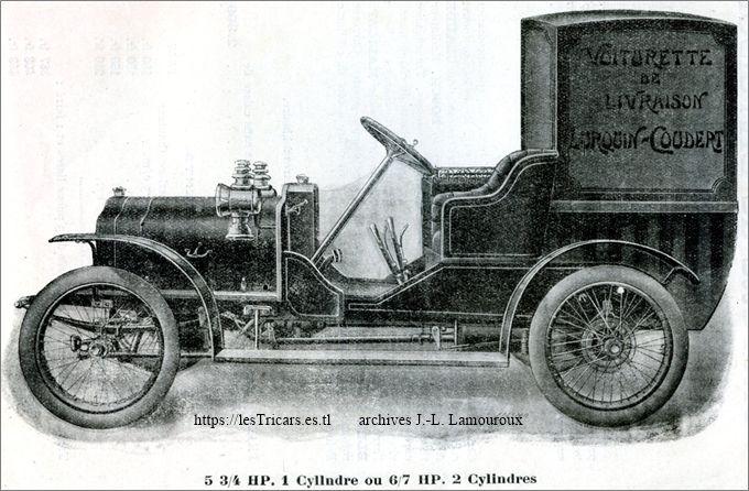 Voiturette de livraison 1911