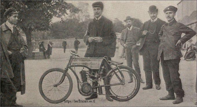 Méline sur Stimula, 1904