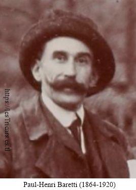 portrait de Paul-Henri Baretti