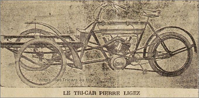 Le tricar Pierre Ligez