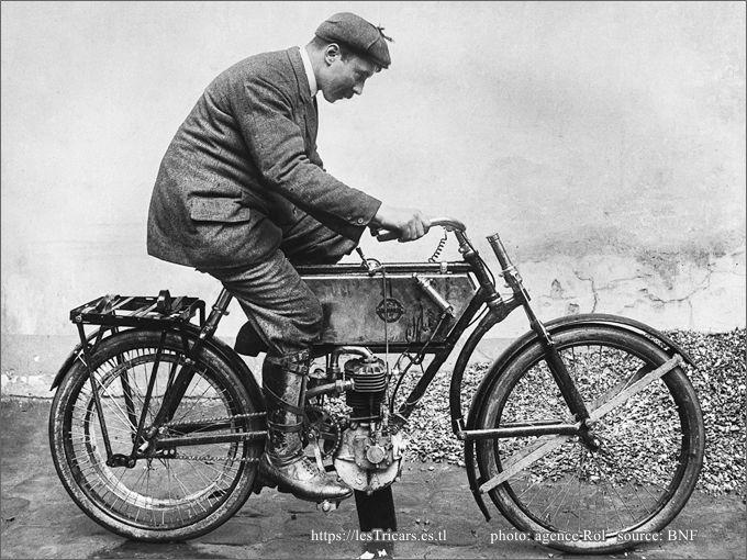 Platel sur Stimula, Tour de France 1905