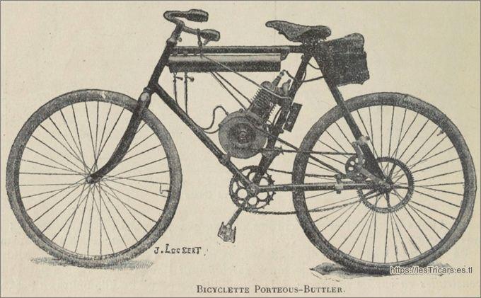 bicyclette à moteur l'Universel, Porteous Butler