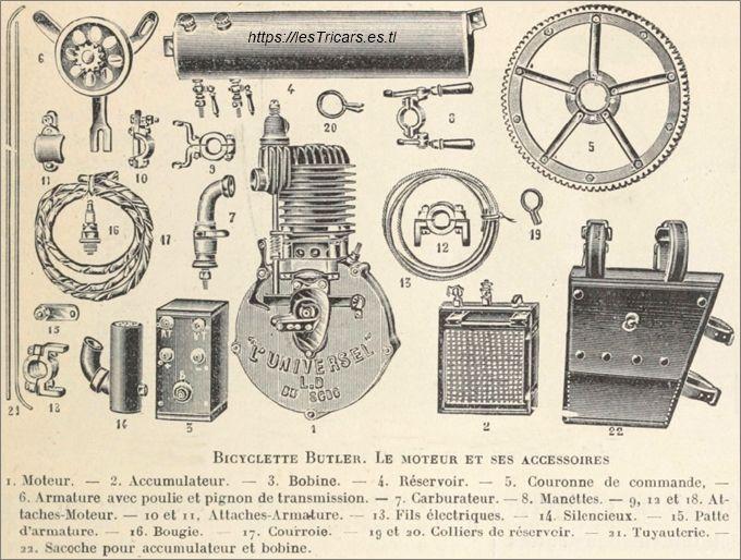 moteur l'Universel et ses accessoirs