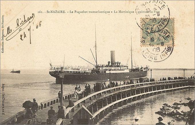 Saint-Nazaire, paquebot