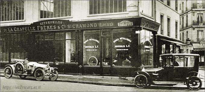 Stimula, magasin de vente, 1912