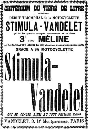 publicité 1904 Stimula-Vandelet