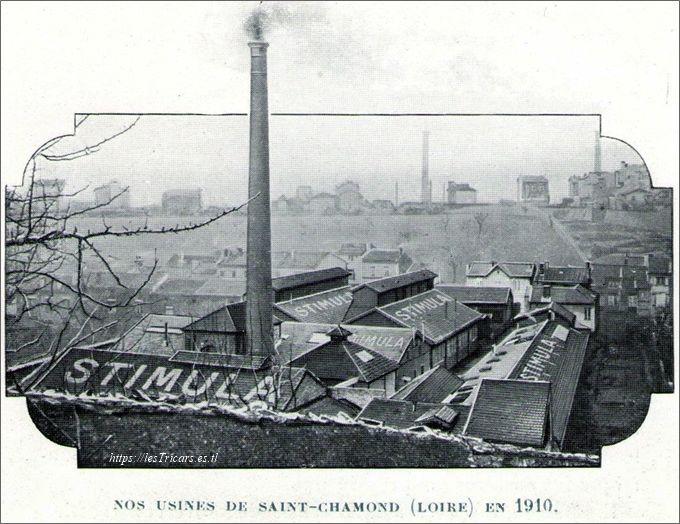 usine Stimula à St-Chamond