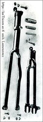 Stimula-Saclier, suspension arrière, pièces