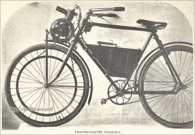 Tractocyclette Journaux 1906