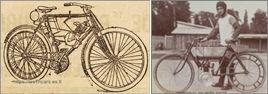 La Foudre, motocyclette construite par Paul Valter