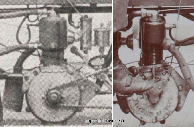 le moteur Villemain refroidi à l'eau