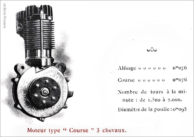 moteur Werner type course 3 CV