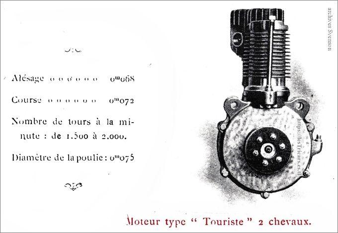 moteur Werner type touriste 2 CV
