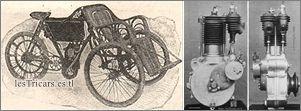 Werner tricar et moteur
