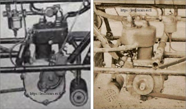 moteur Werner refroidi à eau, 1905