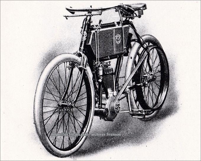 moto Werner, dessin du modèle 1903