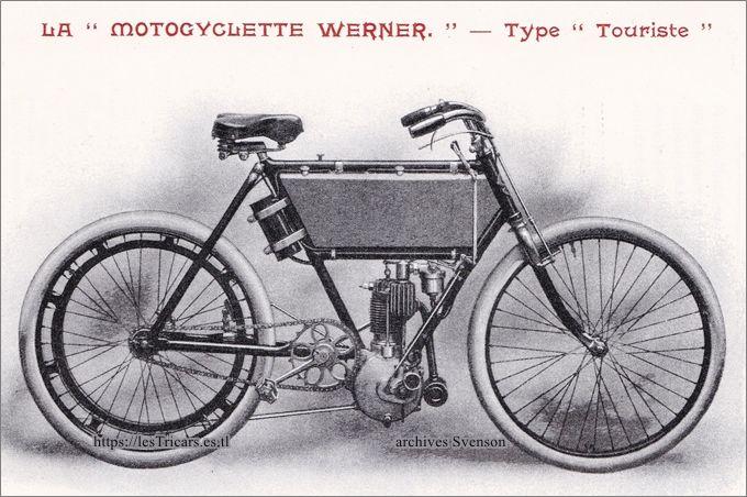 moto Werner 1903 type Touriste