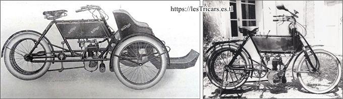 Werner tricar et motocyclette