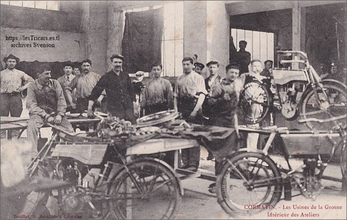 Cormatin, usine Stimula, les ateliers