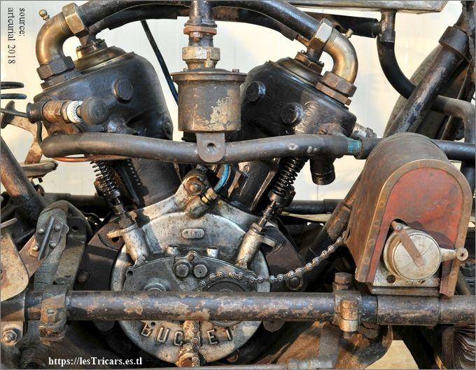moteur Buchet à deux cylindres