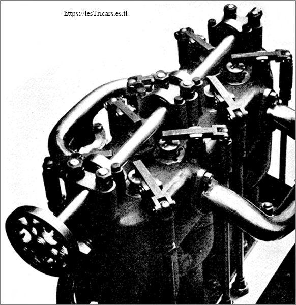 détail du moteur Fulgur