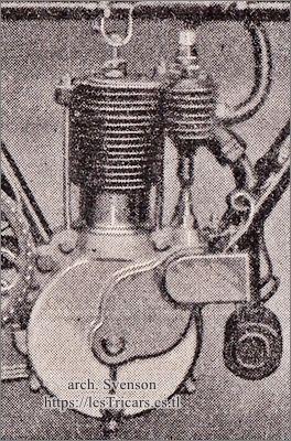 moteur Werner 2,5 HP à soupapes commandées