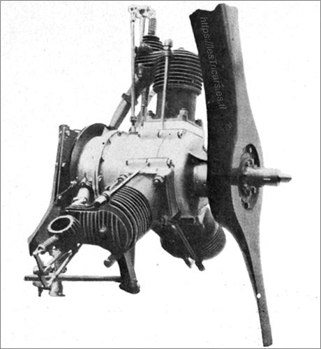 Ligez, moteur bi-rotatif, photo 1911