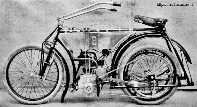 Bonin, motocyclette 1905