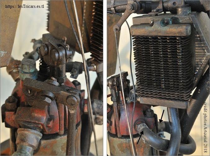 moteur Doué licence Buchet, photographie