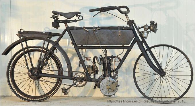 motocyclette Simonet